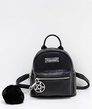 Killstar Darcy Black Mini Backpack