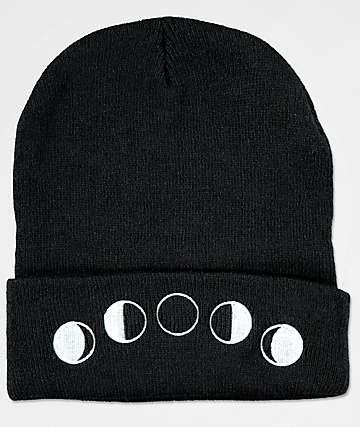 Killstar Moon Phases Black Beanie