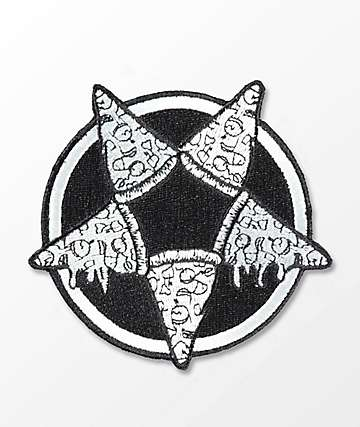 Killstar Pizzagram Black & White Patch
