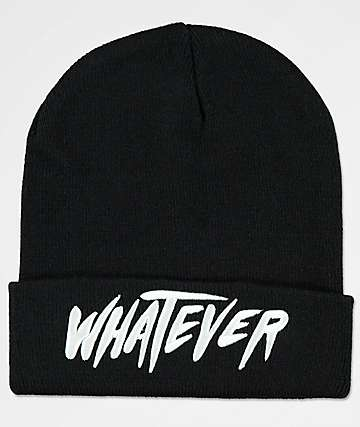 Killstar Whatever Black Beanie