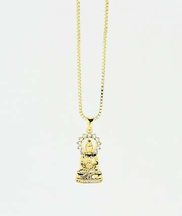 King Ice Enlightened Buddha Necklace