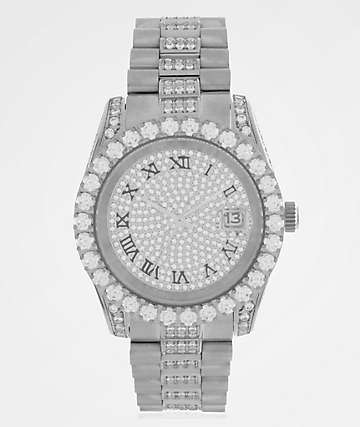 King Ice LX White Gold Analog Watch