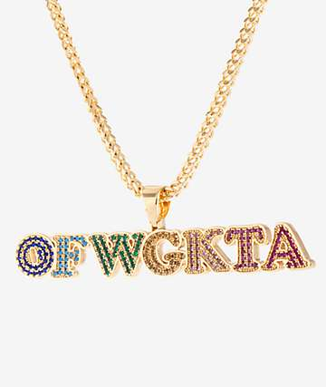 King Ice X Odd Future OFWGKTA Pendant Necklace