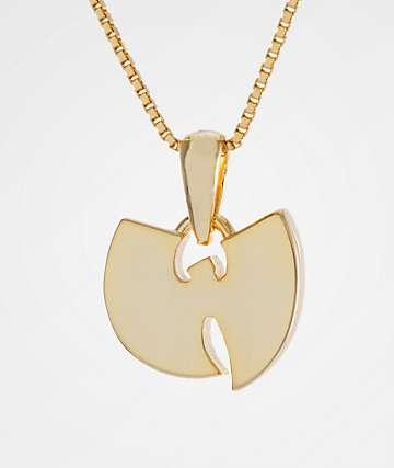 King Ice X Wu-Tang collar de oro para mujeres
