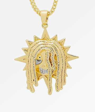 King Ice x Chief Keef Glo Chief 14K Gold Necklace