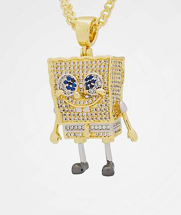 King Ice x Nickelodeon SpongeBob Necklace
