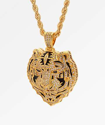 King Ice x Snoop Dogg The Bengal Gold Necklace