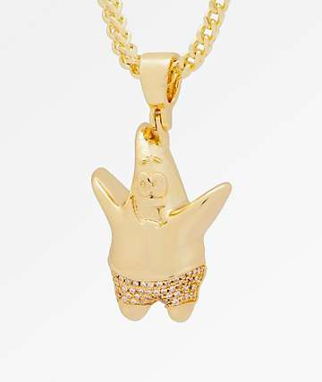 King Ice x Spongebob Patrick Necklace