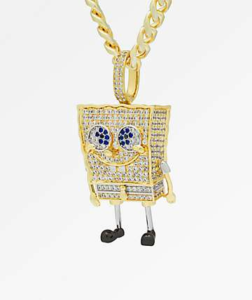 King Ice x Spongebob Squarepants XL Pendant Necklace