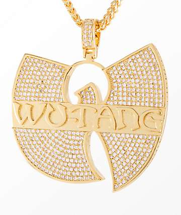 King Ice x Wu-Tang Clan Pendant Necklace
