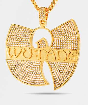 King Ice x Wu-Tang collar con colgante