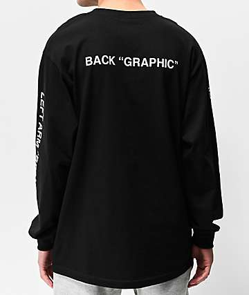 "Know Bad Days ""Logo"" Black Long Sleeve T-Shirt"