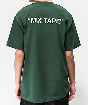 "Know Bad Daze ""Mix Tape"" Dark Green T-Shirt"