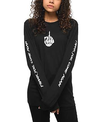 Know Bad Daze Come Again Black Long Sleeve T-Shirt