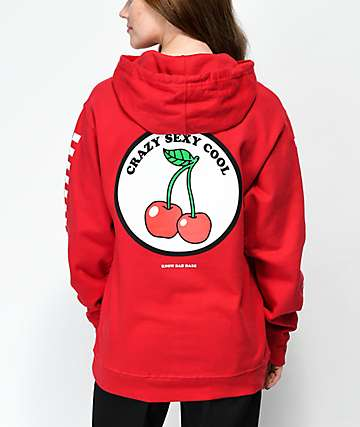 Know Bad Daze Crazy Sexy Red Hoodie