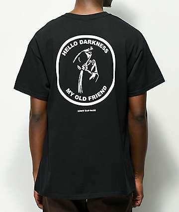 Know Bad Daze Darkness camiseta negra
