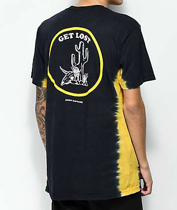 Know Bad Daze Get Lost Black T-Shirt