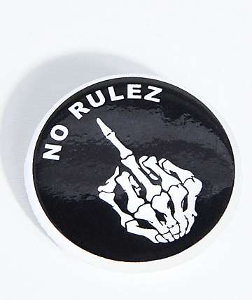 Know Bad Daze No Rules Button