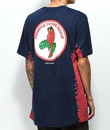 Know Bad Daze Paradise camiseta con efecto tie dye