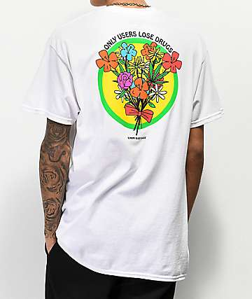 Know Bad Daze Users camiseta blanca
