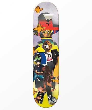 """Krooked Cromer Collage 8.25"""" Skateboard Deck"""