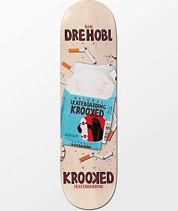 """Krooked Drehobl Crushing It 8.5"""" Skateboard Deck"""