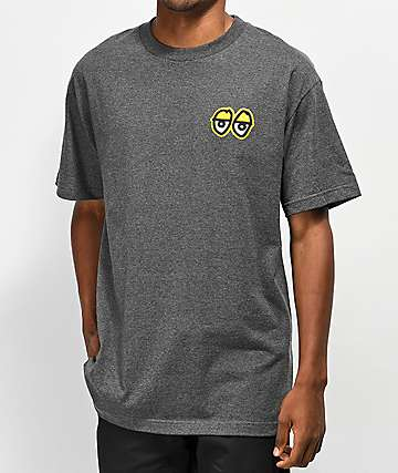 Krooked Eyes Grey T-Shirt