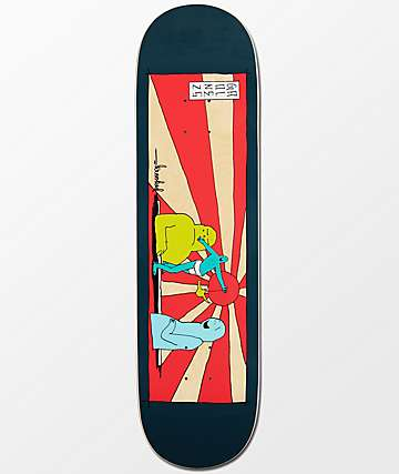 "Krooked Gonz Rising Son 8.38"" Skateboard Deck"