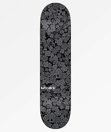 """Krooked Guardin Black 7.75"""" Skateboard Deck"""