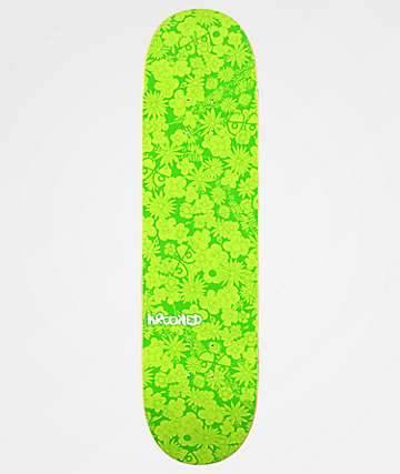 "Krooked Guardin Green 8.06"" Skateboard Deck"