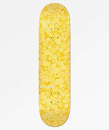 "Krooked Guardin Yellow 8.25"" Skateboard Deck"
