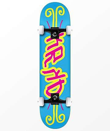 """Krooked KRKD 7.5"""" Skateboard Complete"""