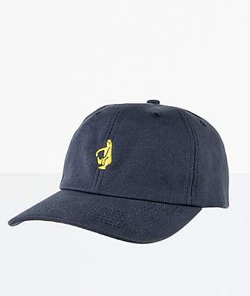 Krooked Schmolo Navy Strapback Hat