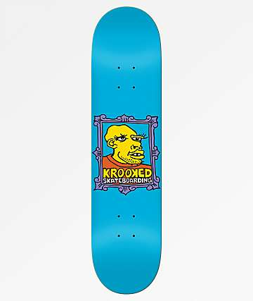 "Krooked Team Frame Face 8.38"" Skateboard Deck"