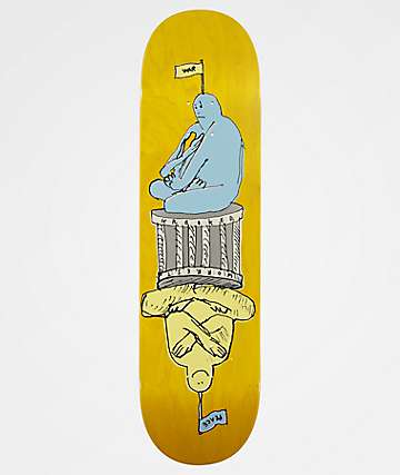 "Krooked Worrest Peacewar 8.25"" Skateboard Deck"