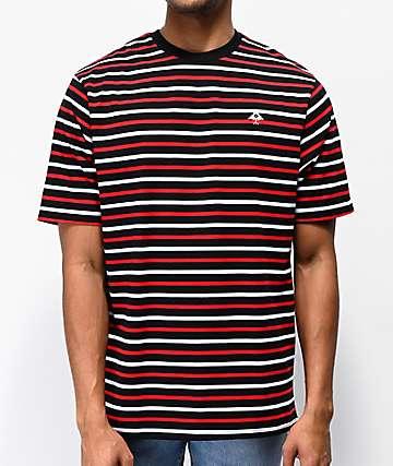 LRG Breezy Black, Red & White T-Shirt