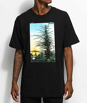 LRG Cultivators Of Green Black T-Shirt
