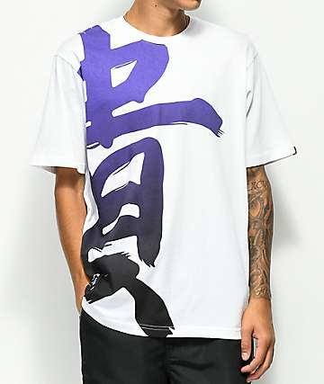 LRG Honor Kanji White T-Shirt