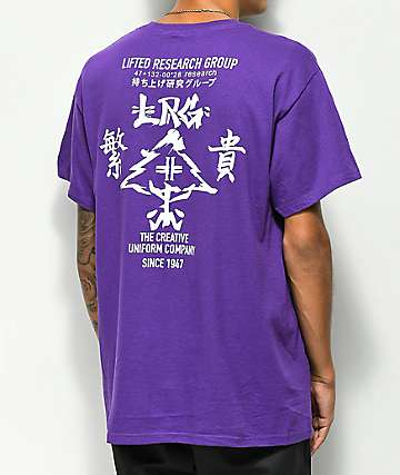 LRG Kanji camiseta morada