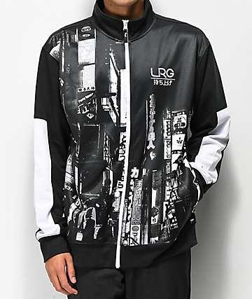 LRG Midnight chaqueta de chándal negra