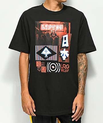 LRG Neon Sign camiseta negra