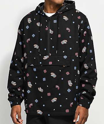 LRG Skillz Black Anorak Jacket