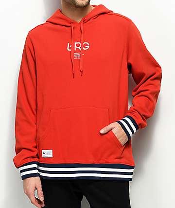 LRG Sportif Red Hoodie