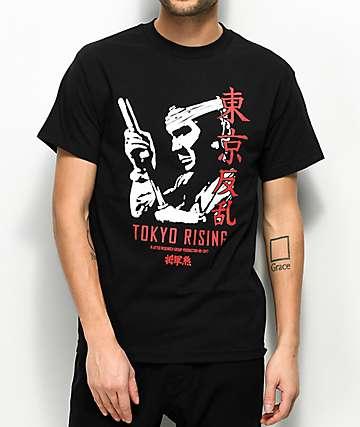 LRG Tokyo Rising Black T-Shirt