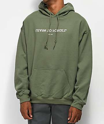 LTF Army Green Logo Hoodie