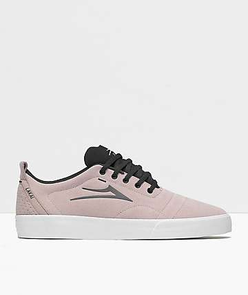 Lakai Bristol Rose Suede Skate Shoes