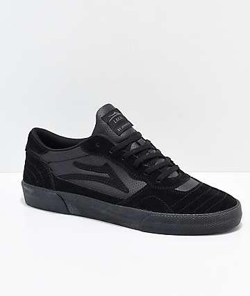 Lakai Cambridge zapatos de skate de ante negro