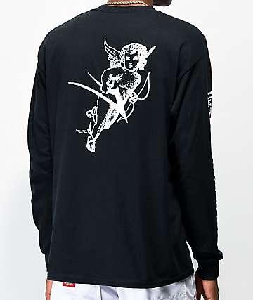 Lakai Cherub Black Long Sleeve T-Shirt