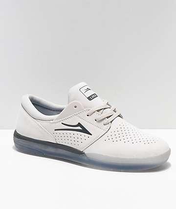Lakai Fremont zapatos de skate de ante blanco