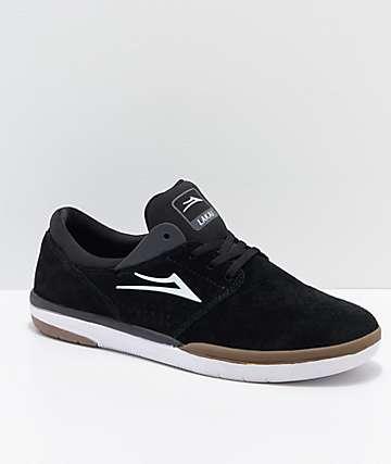 en gris goma y de de ante zapatos Fremont negro Lakai skate Zxnp7Bxq